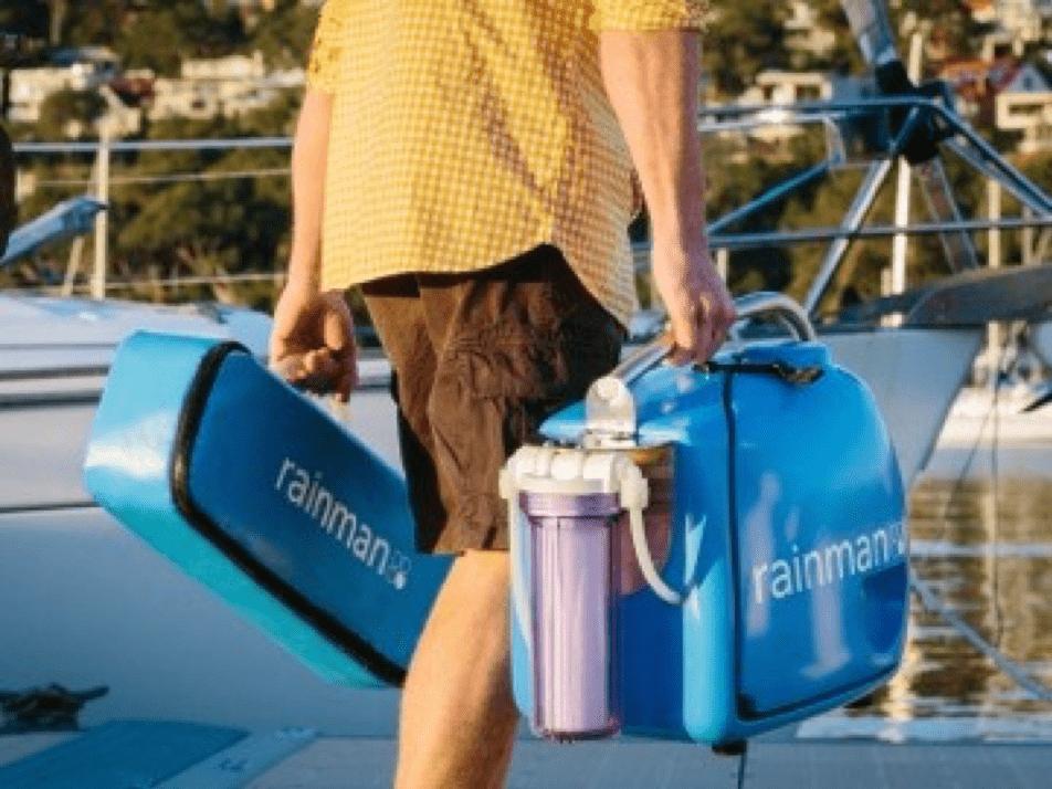 petrol gasoline rainman water makers