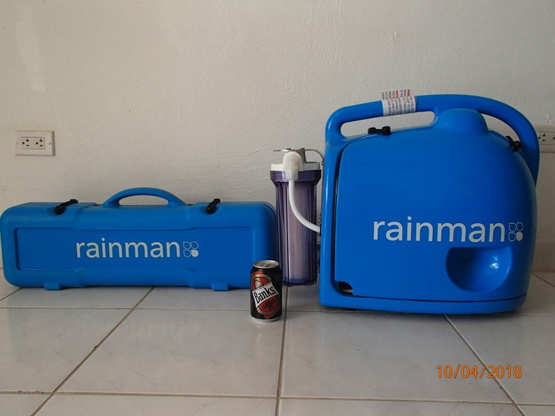 rainman petrol desalinator