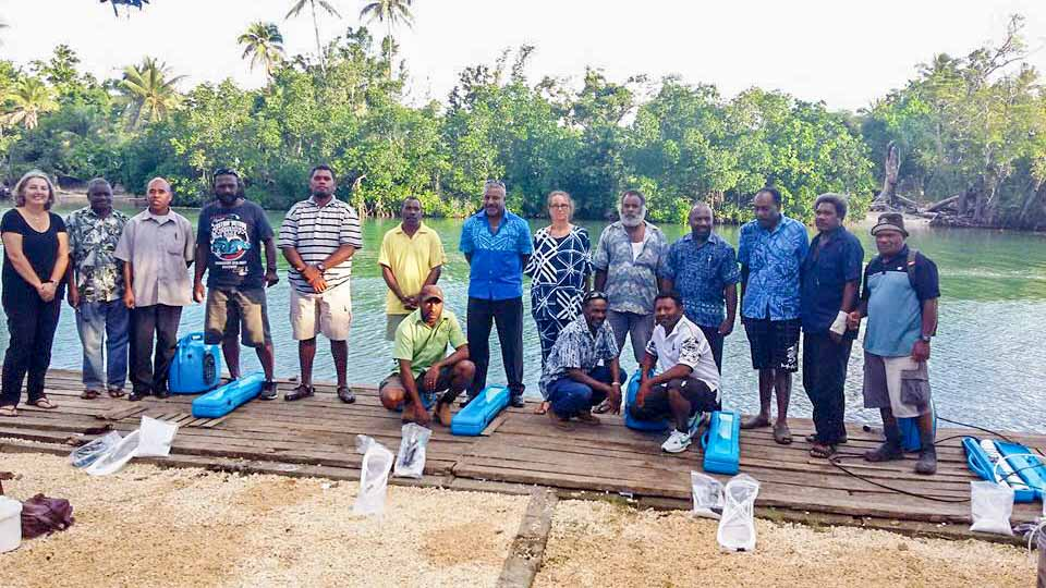 desalination in pacific islands vanuatu