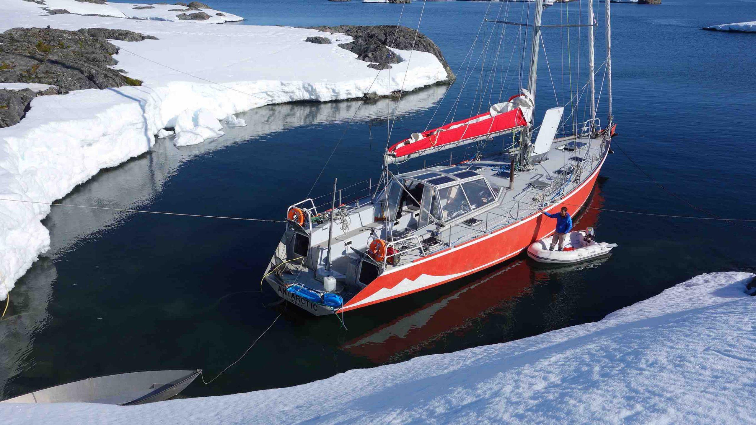 saltwater desalinator antarctica