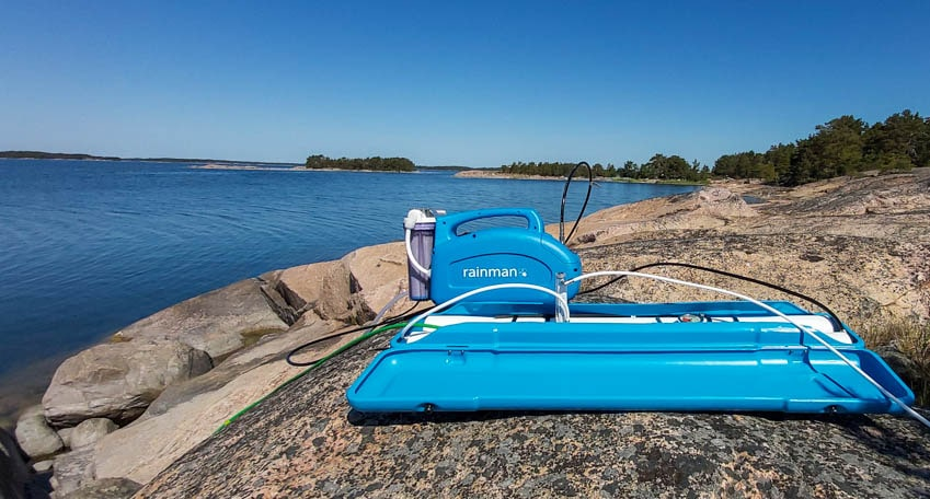 rainman water makers finnish archipelago
