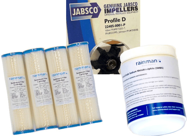 rainman watermaker consumables