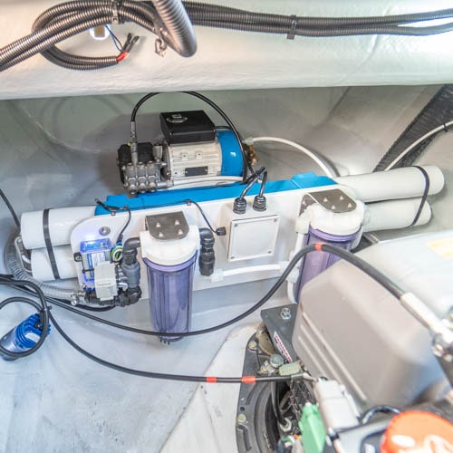 integrated watermaker yacht