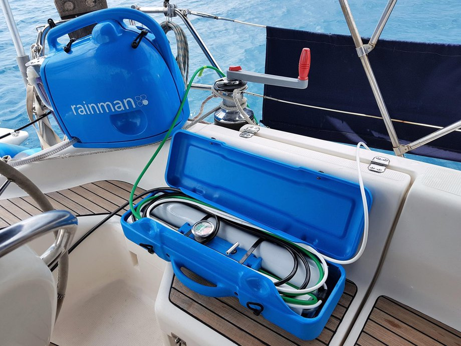 petrol rainman watermaker bavaria yacht