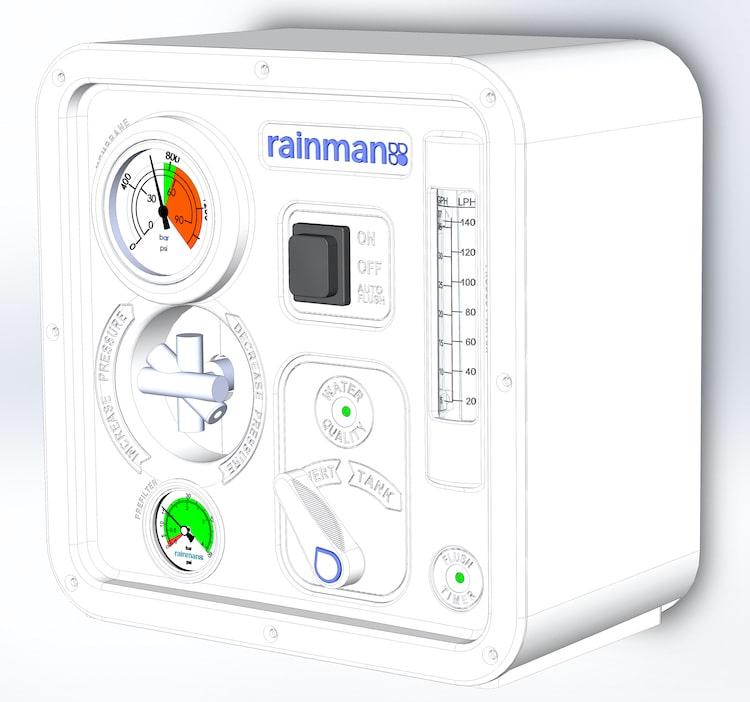 rainman control enclosure rendering