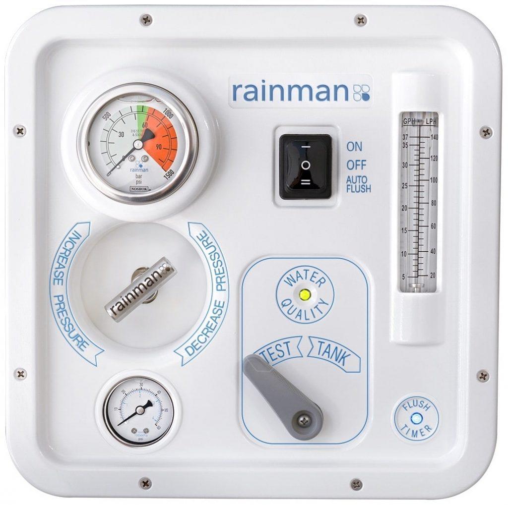 rainman watermaker control panel